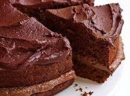 Wheat Free & Fat free Chocolate Cake